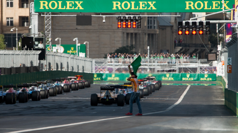 (English) BAKU is getting ready to turn on the Formula 1 engines !!!