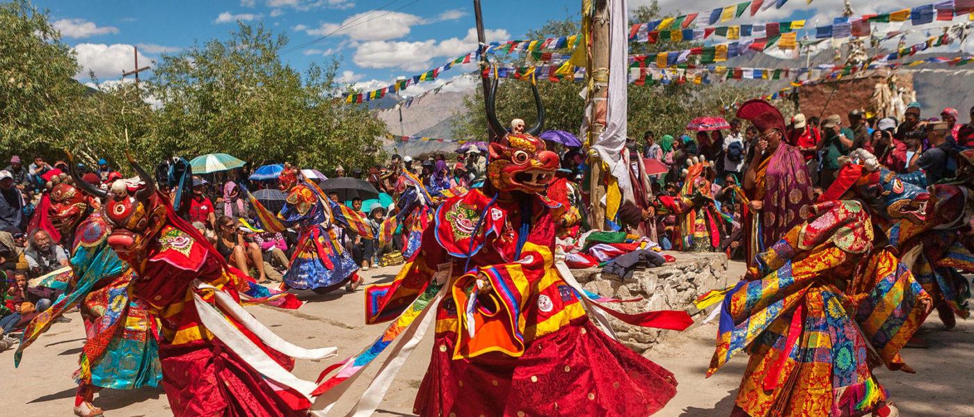 (English) Ladakh, Indian Tibet celebrating Padmasambhava