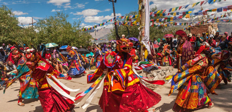 (English) Ladakh, Indian Tibet celebrating Padmasambhava